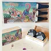caja madera para firma
